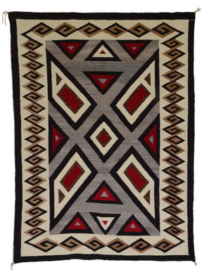 Crystal Navajo Weaving : Historic : GHT 525 - Getzwiller's Nizhoni Ranch Gallery