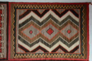 Antique Navajo Rug: 4 in 1 Teec Nos Pos Pictorial : GHT 187 - Getzwiller's Nizhoni Ranch Gallery