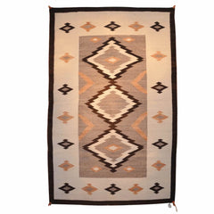 Crystal JB Moore Navajo Weaving : Historic : GHT 2044