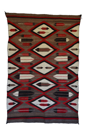 Crystal JB Moore Variant : Antique Navajo Rug : GHT 2261 - Getzwiller's Nizhoni Ranch Gallery