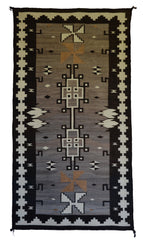Two Grey Hills / Crystal Navajo Weaving : Historic : GHT 2268