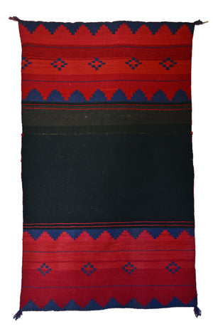 "SOLD Late Classic Dress Panel Navajo Weaving : Historic : GHT 2270 : 51"" x 30"" - Getzwiller's Nizhoni Ranch Gallery"