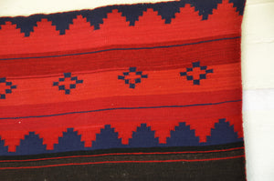 "Classic Dress Panel Navajo Weaving : Historic : GHT 2270 : 51"" x 30"" - Getzwiller's Nizhoni Ranch Gallery"