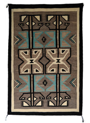 Two Grey Hills: Historic Navajo Weaving : GHT 2282