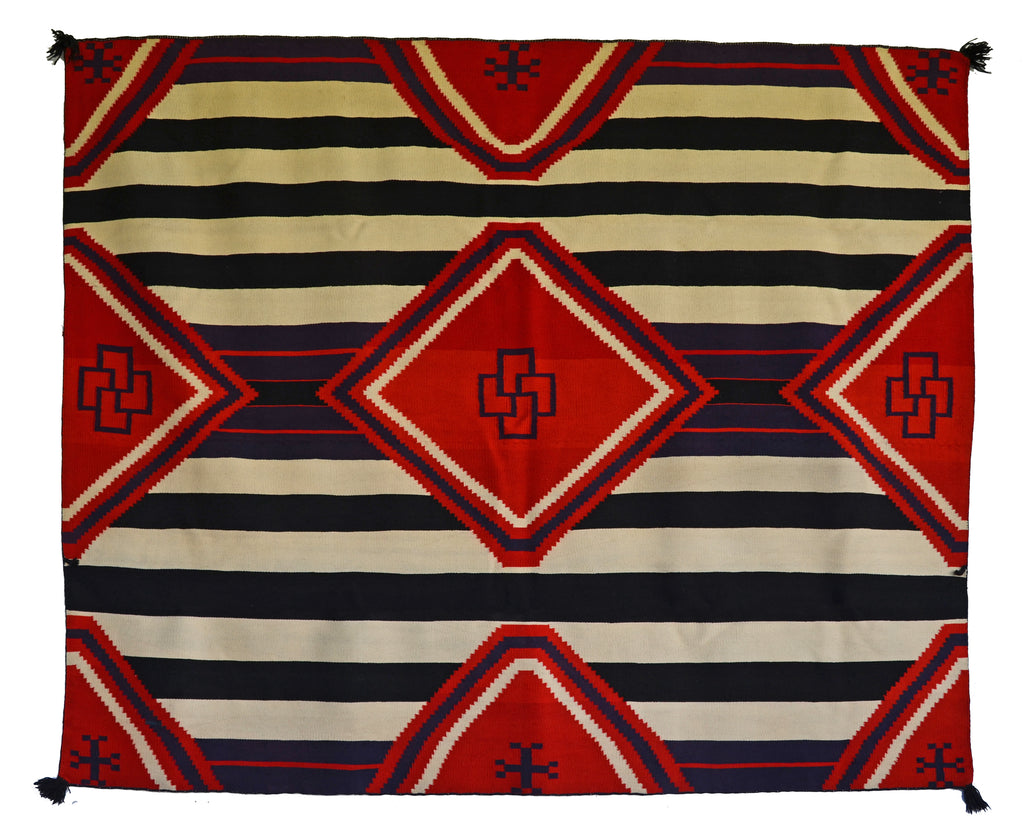 3rd Phase Chief Blanket : Historic Navajo Blanket : GHT 393 - Getzwiller's Nizhoni Ranch Gallery