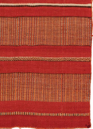 Twill Double Saddle Blanket Navajo Weaving : Historic : PC-85 - Getzwiller's Nizhoni Ranch Gallery
