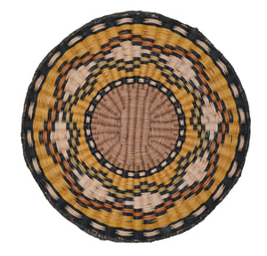 Native American Basket : Hopi Wicker Plaque : Basket 13 - Getzwiller's Nizhoni Ranch Gallery