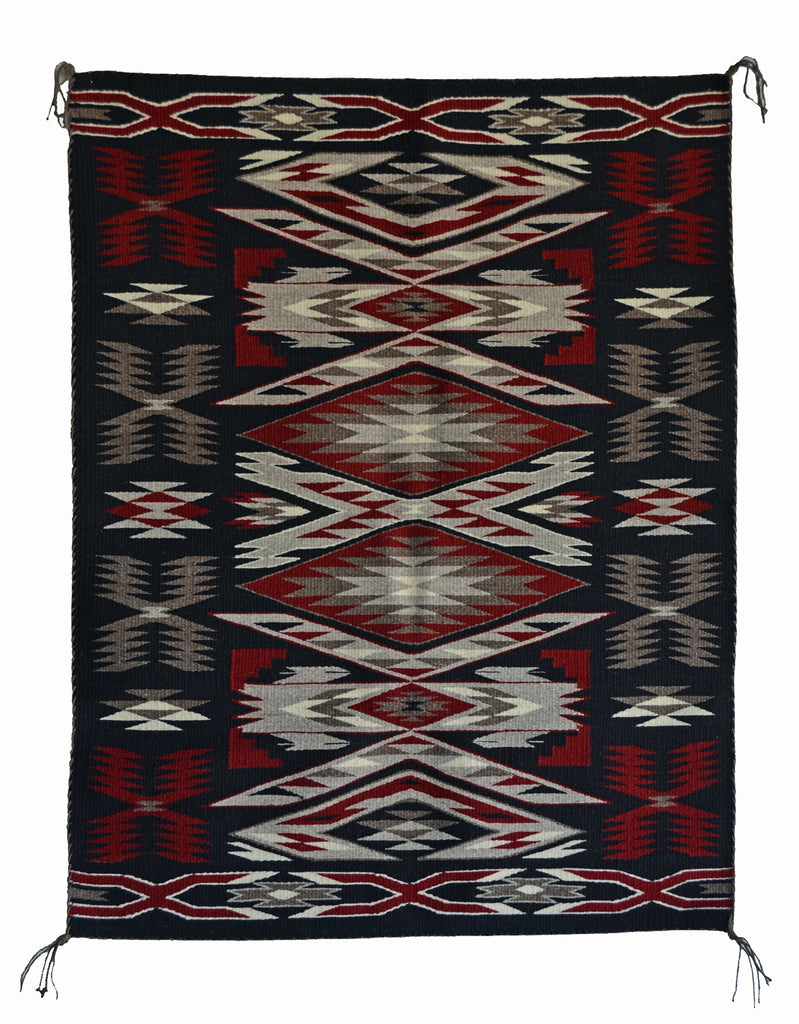 Storm Pattern/Teec Navajo Weaving : Gabrielle Chester : 3361