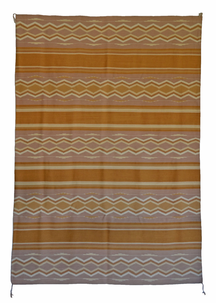 "Wide Ruins Navajo Rug : Historic Lippincott Era : GHT 2303 : 6'2"" x 8'8"""