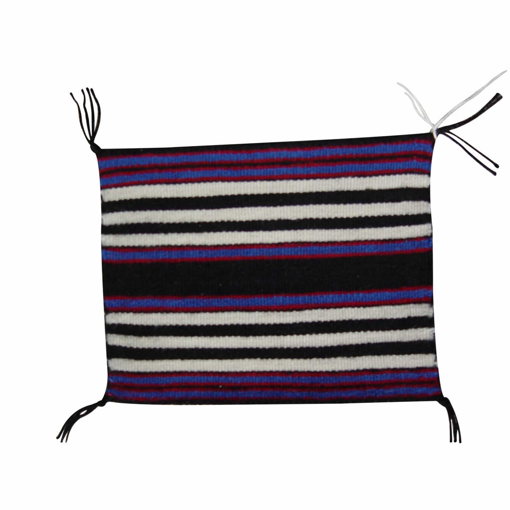 Miniature : 1st Phase Miniature Chief Blanket : Matilda Yazzie Bia : M-100