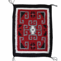 SOLD Miniature : Ganado Navajo Tapestry : Laticia Begay : m-131