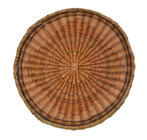 Native American Basket : Hopi Wicker Plaque : Basket 14 - Getzwiller's Nizhoni Ranch Gallery