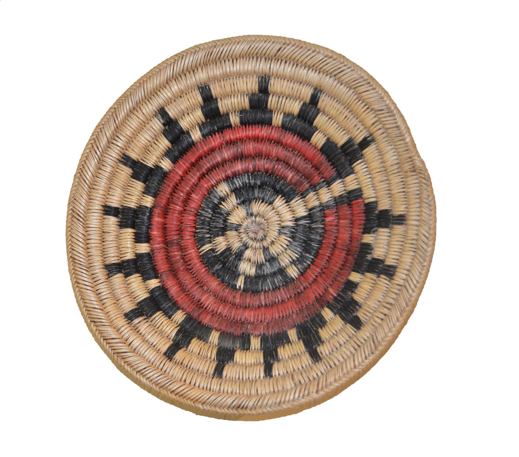 Native American Basket: Navajo Wedding Basket : Basket 8 - Getzwiller's Nizhoni Ranch Gallery