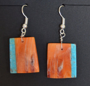 Native American Jewelry : Navajo : Earrings :  NAJ-62E - Getzwiller's Nizhoni Ranch Gallery
