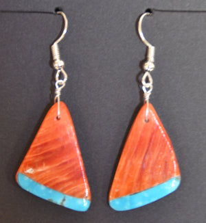Native American Jewelry : Navajo : Earrings :  NAJ-63E - Getzwiller's Nizhoni Ranch Gallery