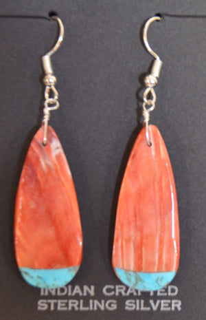 Native American Jewelry : Navajo : Earrings :  NAJ-65E - Getzwiller's Nizhoni Ranch Gallery