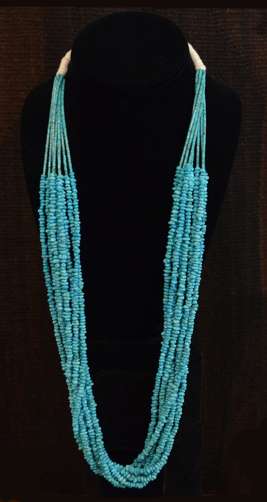 Native American Jewelry : Turquoise Necklace : NAJ-N30 - Getzwiller's Nizhoni Ranch Gallery