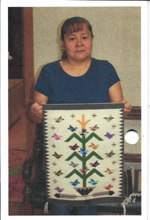 Tree Of Life Navajo Rug : Lena Begay : 3415