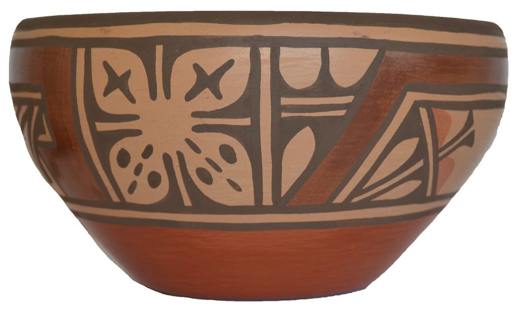 Native American: Zia Pueblo Pot : Stew pot :  Ruby Panana: rp 24 - Getzwiller's Nizhoni Ranch Gallery