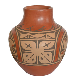 Native American: Zia Pueblo Pot : Olla: Ruby Panana: rp 30 - Getzwiller's Nizhoni Ranch Gallery