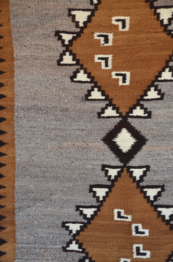 Double Saddle Blanket : Historic Navajo Weaving : GHT 2312 - Getzwiller's Nizhoni Ranch Gallery