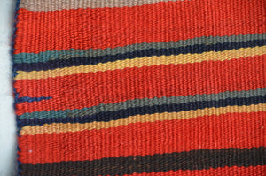 "2nd Phase Womans Chief Blanket Navajo Weaving : Historic : PC 283 : 56"" x 67"" - Getzwiller's Nizhoni Ranch Gallery"