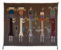 Yei Be Chei Navajo Weaving : Arnold Begay : 3363