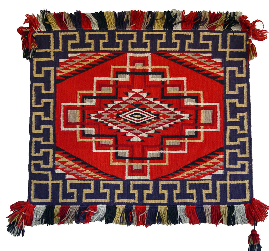 Saddle Blanket - Single Sunday Navajo Weaving : Historic : PC 119 - Getzwiller's Nizhoni Ranch Gallery