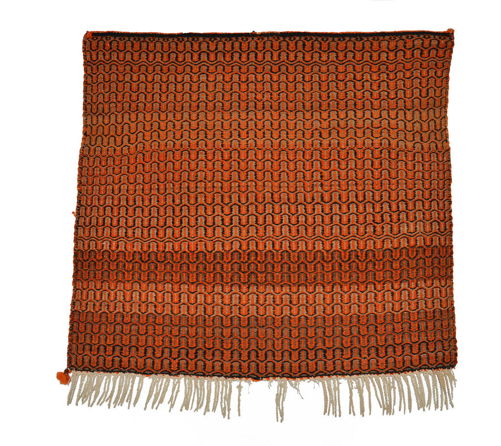 HOLD Twill Single Saddle Navajo Blanket : Historic : PC 121 - Getzwiller's Nizhoni Ranch Gallery