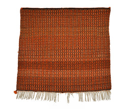 Twill Single Saddle Navajo Blanket : Historic : PC 121