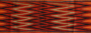 "Late Classic Wedge Weave Navajo Blanket : Historic : PC 253 : 58"" x 82"" - Getzwiller's Nizhoni Ranch Gallery"