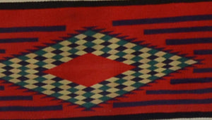 3rd Phase Navajo Chief Blanket : Antique : PC 278 : 56″ x 78″ - Getzwiller's Nizhoni Ranch Gallery