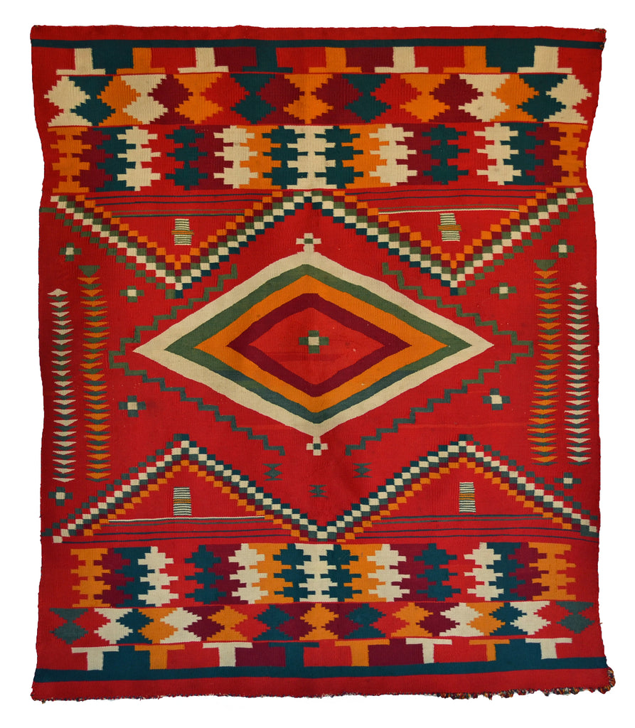 Navajo Germantown Blanket : Historic : PC 279 - Getzwiller's Nizhoni Ranch Gallery