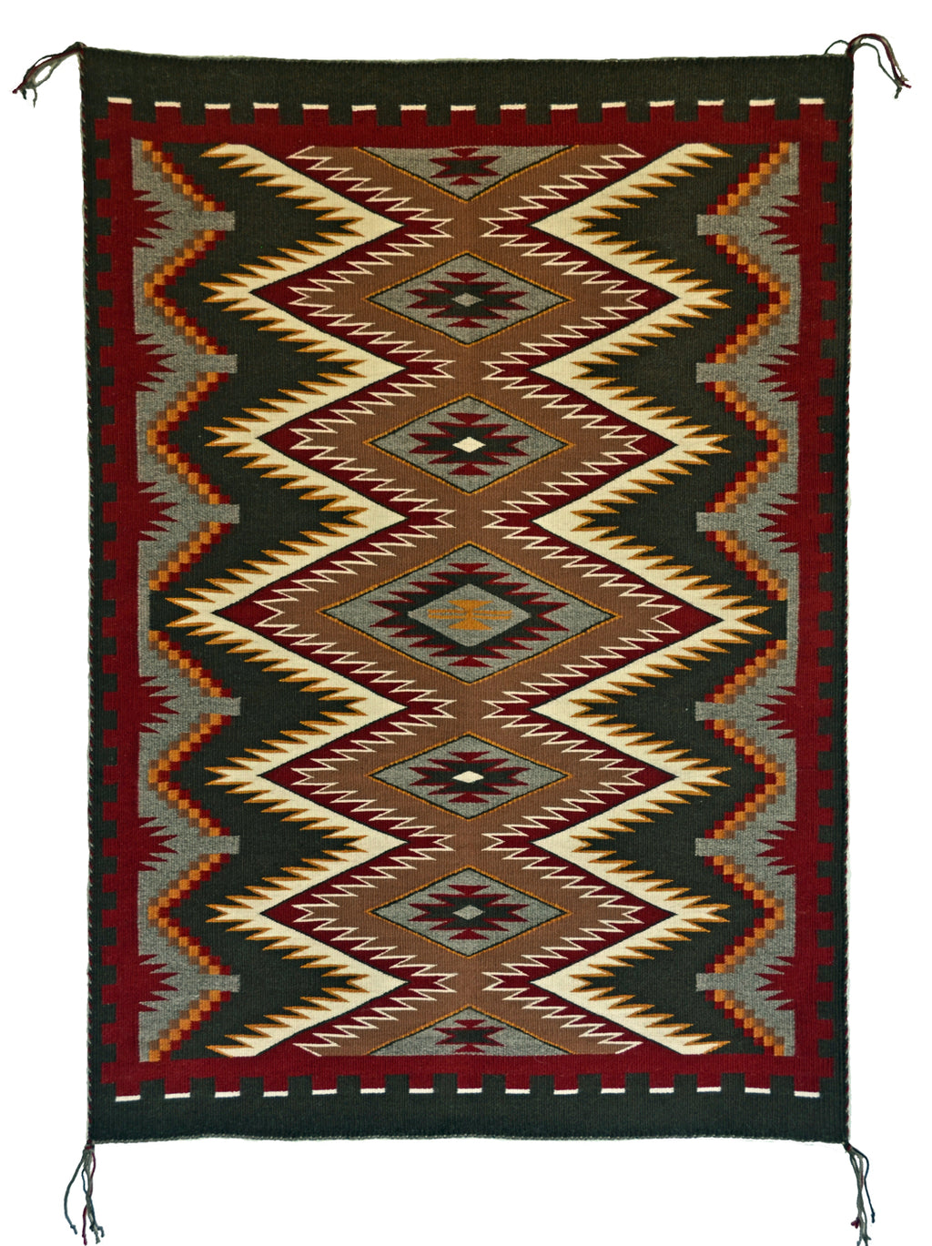 Red Mesa Navajo Rug for sale
