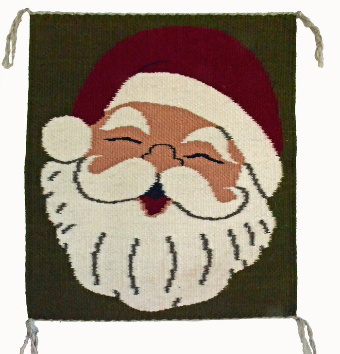 Santa Claus Pictorial Navajo Weaving : Jo Anne Begay : 3366