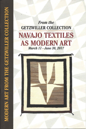 Book:  Navajo Textiles As Modern Art - Getzwiller's Nizhoni Ranch Gallery