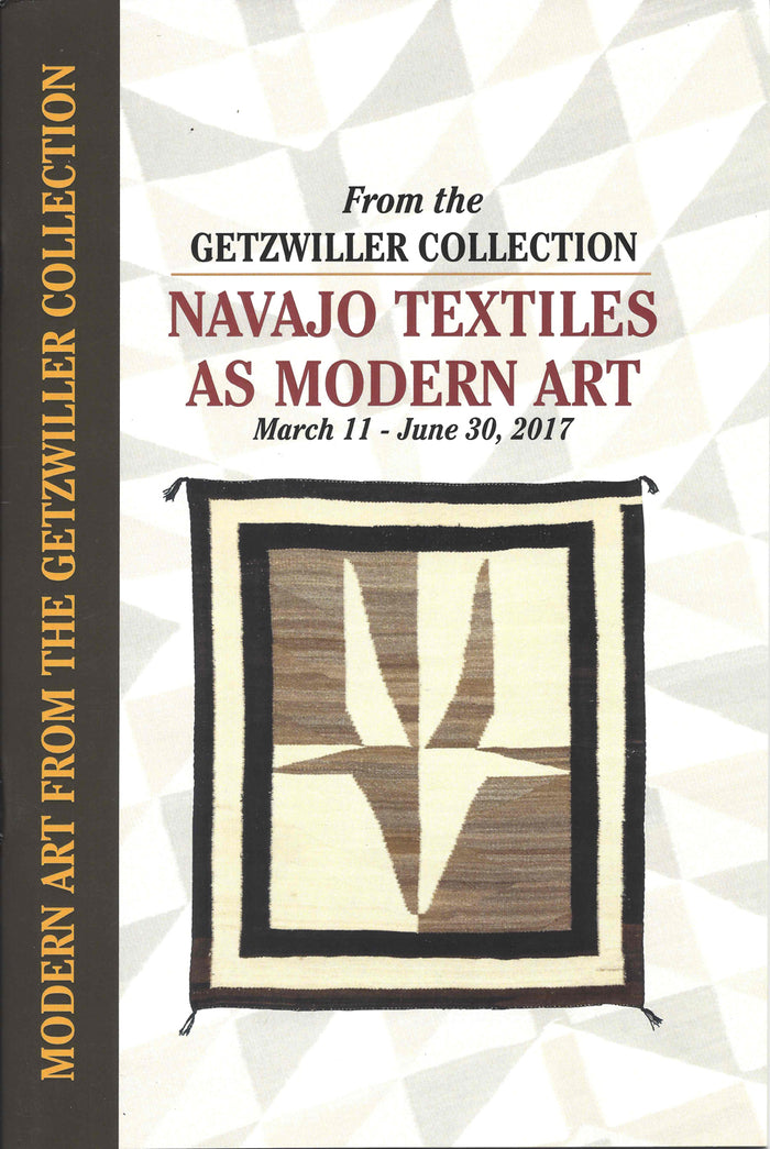 Book:  Navajo Textiles As Modern Art
