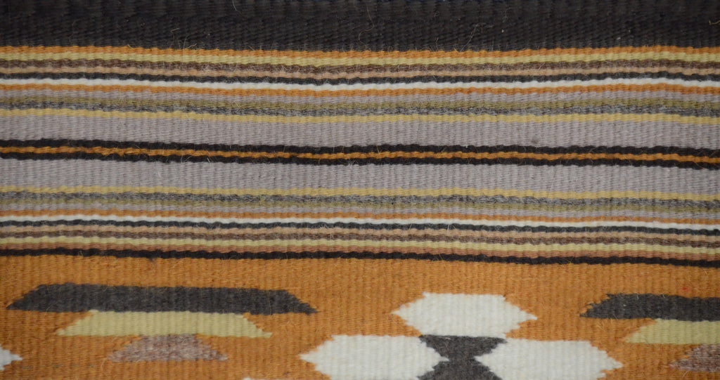 HOLD Three Turkey Ruin/Chinle Navajo weaving : Gloria Bia : Churro 1587 - Getzwiller's Nizhoni Ranch Gallery
