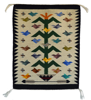 Navajo Tree of Life weaving