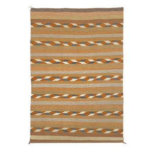 Crystal Navajo Weaving: Grace Brown : B-18 - Getzwiller's Nizhoni Ranch Gallery