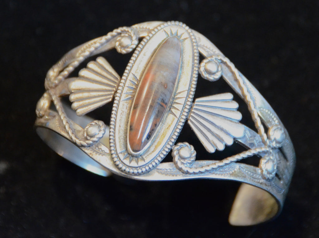 Jewelry : Vintage Fred Harvey Cuff Bracelet - Getzwiller's Nizhoni Ranch Gallery