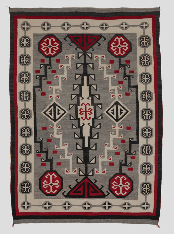 Antique Navajo Rug :  Crystal Style : GHT 41