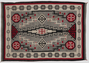 "Antique Navajo Rug :  Crystal Style : GHT 41 : 62"" X 84"""