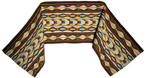 "Navajo Womans Shawl : Kathy Marianito : Churro 1642 : 71""  x 16"""