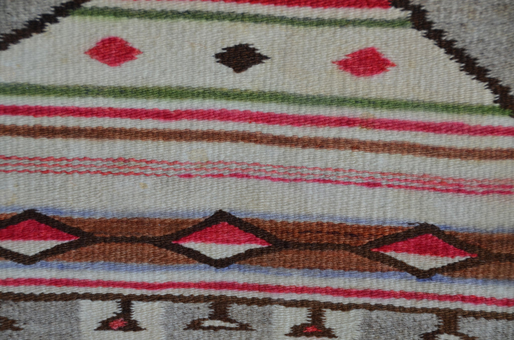 HOLD Yei Be Chei Dancer : Historic Navajo Weaving : GHT 2296 - Getzwiller's Nizhoni Ranch Gallery
