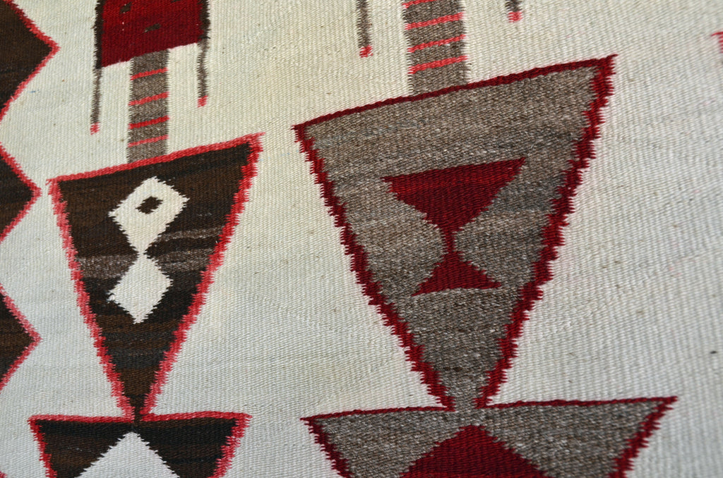 Antique Guardian Yei Navajo Weaving : Historic : GHT 2298 - Getzwiller's Nizhoni Ranch Gallery