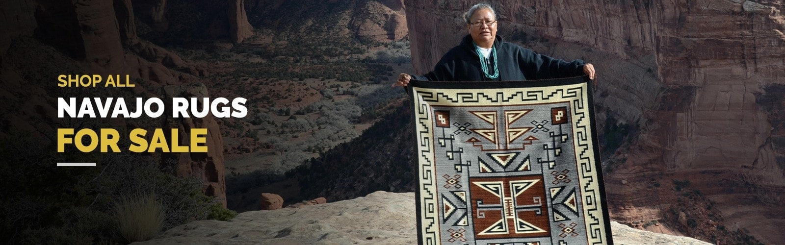 Handwoven Authentic Navajo Rugs for Sale