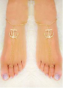 Anklets for women Sexy Tin chain Beach anklets jewelry Free Shipping