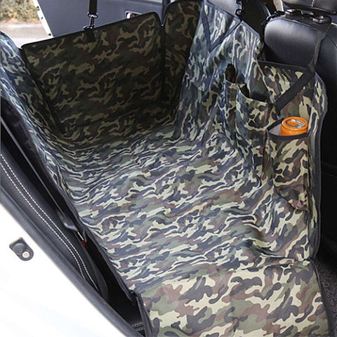 Camouflage Washable Pet Car Travel Waterproof Cushion Pad