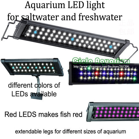 Aquarium Fish tank LED Light Lighting fixture Lamp